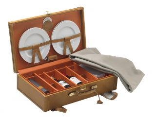Vin-Cadeaux - 101.5 valise pique-nique  - naturel - ouverte.1