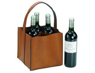 Vin-Cadeaux - 802.1 seau 4 bouteilles - naturel - avec bouteille.1