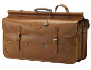 chasse - bagages de chasse - 74Z sac battue 2 rabats 2 soufflets - antique.1