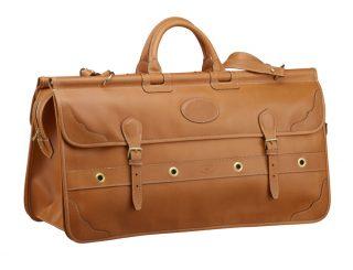 chasse - bagages de chasse - 79 sac battue 1 compartiment central - antique.1