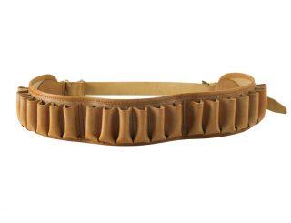 chasse - cartouchieres - 142.1 ceinture calibre 12 - naturel.1