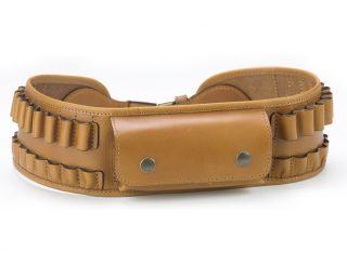 chasse - cartouchieres - 143.2 ceinture balles + poche - naturel.1