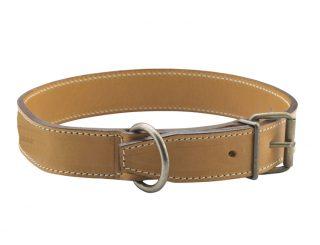 chasse - chien - 929 collier doublé - naturel.1