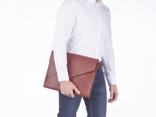 Leather portfolio