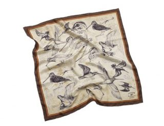 Maroquinerie - accesoires - 763.2 foulard Bécassine - 70x70.1