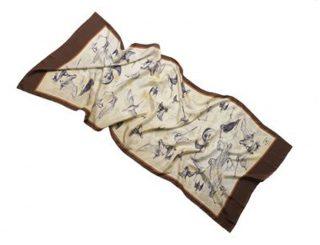 Maroquinerie - accesoires - 763.3 écharpe Bécassine - 180x70.1