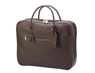 maroquinerie - sac de voyage - 139.0 square PM - sauvage + acajou