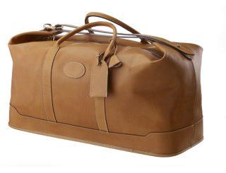 maroquinerie - sac de voyage - 91.2 polochon GM - naturel