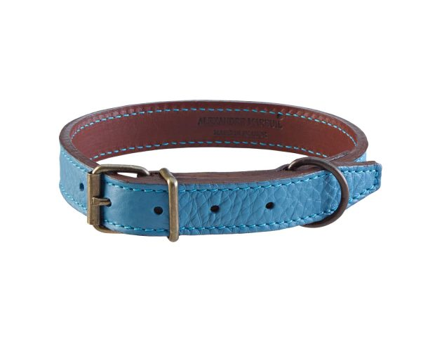 ref-929-alexandre-mareuil-collier-pour-chien-double-en-taurillon-bleu-clair