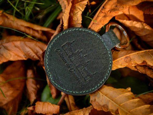 Keychain in boar leather