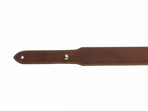 Bretelle en cuir doublée carabine