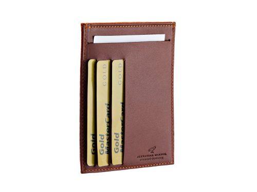 Porte billets et cartes plat vertical